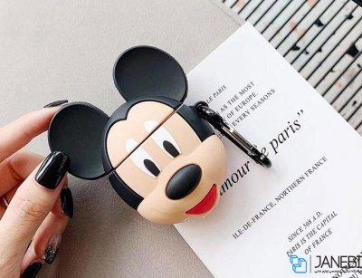 کاور محافظ سیلیکونی ایرپاد طرح میکی موس Mickey Mouse Silicone Case Apple Airpods