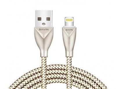 کابل شارژ و انتقال داده لایتنینگ باوین Bavin CB069 Lightning Cable 1m