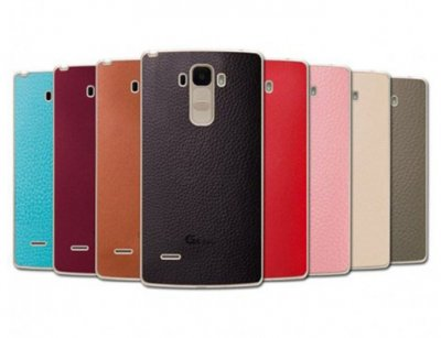 قاب چرمی اصلی ال جی Voia Skin Shield Leather Case LG G4 Stylus