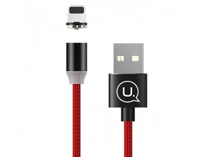کابل مگنتی لایتنینگ یوسامز Usams US-SJ292 Lightning Cable 1m