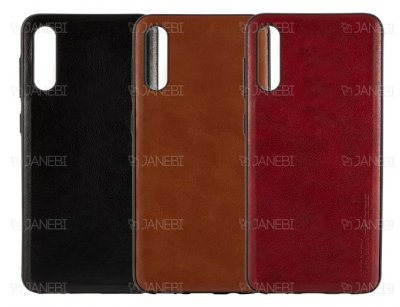 قاب طرح چرم سامسونگ Huanmin Leather Case Samsung Galaxy A50