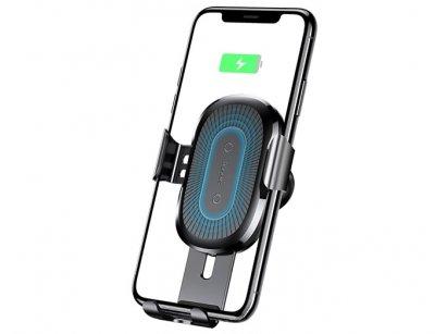 پایه نگهدارنده و شارژر وایرلس بیسوس Baseus Wireless Charger Gravity Car Mount