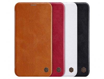 کیف چرمی نیلکین آیفون Nillkin Qin Leather Case iPhone 11 Pro