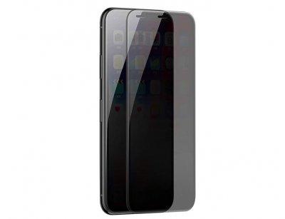 محافظ صفحه نمایش شیشه ای حفظ حریم شخصی بیسوس آیفون Baseus Anti-Peeping Privacy Glass iPhone XS Max