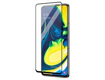 محافظ صفحه نمایش شیشه ای تمام صفحه سامسونگ RG Full Glass Samsung Galaxy A80/A90