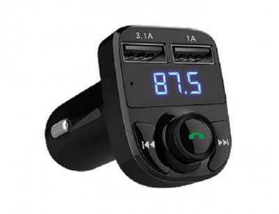 شارژر فندکی با قابلیت پخش موسیقی و تماس ارلدام Earldom ET-M29 Bluetooth Car Charger