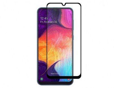 محافظ صفحه نمایش شیشه ای تمام چسب سامسونگ Full Glass Screen Protector Samsung Galaxy A20/A30/A50/A50s/A30s