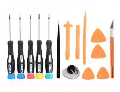مجموعه پیچ گوشتی و ابزار Jakemy JM-9101 15 In 1 Screwdrivers Kit