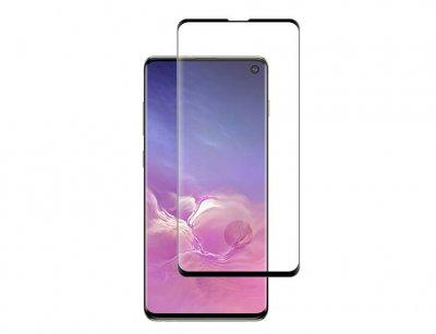 محافظ صفحه نمایش شیشه ای تمام چسب سامسونگ Full Glass Screen Protector Samsung Galaxy S10