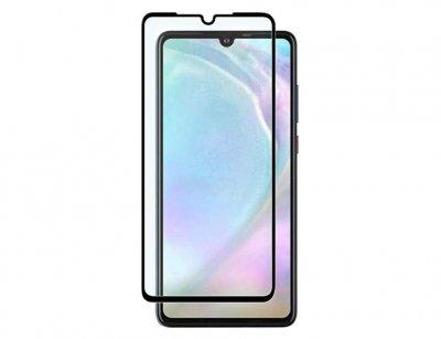 محافظ صفحه نمایش شیشه ای تمام چسب هواوی Full Glass Screen Protector Huawei P30
