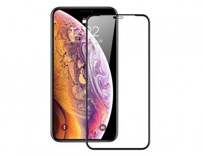 محافظ صفحه نمایش شیشه ای تمام چسب آیفون Full Glass 2.5D Screen Protector Apple iphone 11/XR
