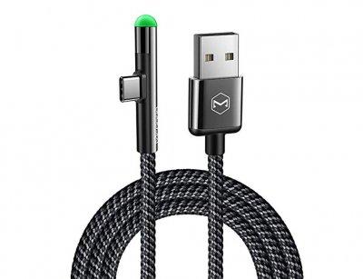 کابل شارژ و انتقال داده تایپ سی مک دودو Mcdodo Type-C 90 Degree Cable 1.5m CA-6390