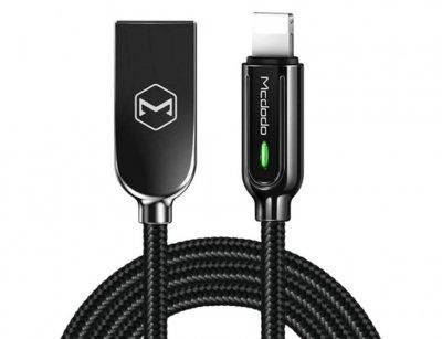 کابل لایتنینگ هوشمند مک دودو Mcdodo Auto Disconnect Lightning Cable 1.2m