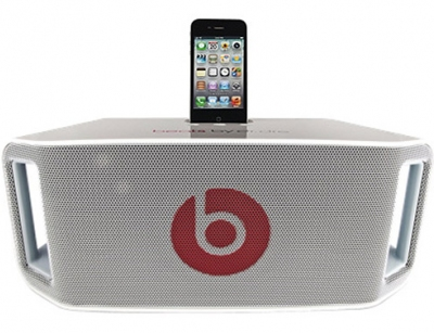 اسپیکر بی سیم قابل حمل بیت باکس بیتس الکترونیکز Beats Dr.Dre White BeatBox Portable