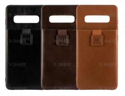 قاب چرمی چندمنظوره سامسونگ HDD Invisible Wallet Samsung S10