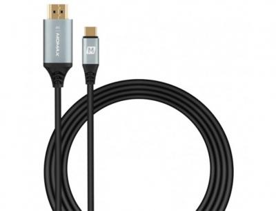 کابل مبدل تایپ سی به اچ دی ام آی مومکس Momax DTH2E GOLINK Type-C to HDMI Cable 2m