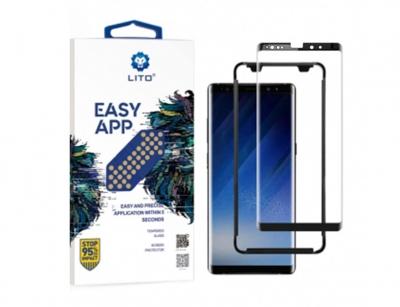 محافظ صفحه شیشه ای و قاب نصب لیتو سامسونگ Lito Easy App Glass Samsung Note 9