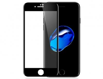 محافظ صفحه نمایش شیشه ای تمام چسب آیفون Full Glass 2.5D Screen Protector Apple iphone 7/8