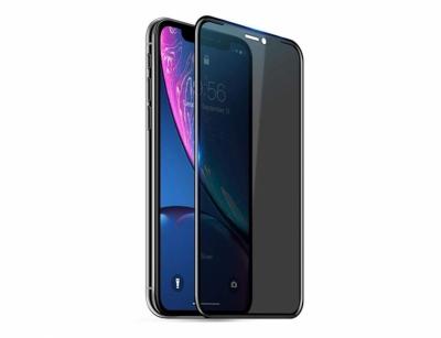 محافظ صفحه نمایش شیشه ای نانو حریم شخصی آیفون Blueo 3D Anti Peep Glass Apple iPhone XR/11