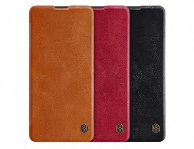 کیف چرمی نیلکین سامسونگ Nillkin Qin Leather Case Samsung Galaxy Note 10 Lite