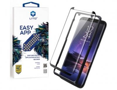 محافظ صفحه شیشه ای و قاب نصب لیتو سامسونگ Lito Easy App Glass Samsung S8/S9