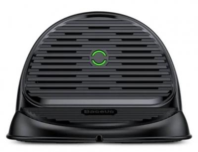 هولدر و شارژر وایرلس رومیزی بیسوس Baseus BSWC-P11 Silicone Desktop Wireless Charger