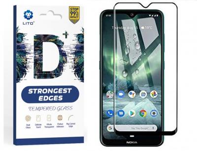 محافظ صفحه شیشه ای لیتو نوکیا Lito Strongest Edges Glass Nokia 6.2