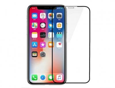 محافظ صفحه نمایش شیشه ای آیفون Blueo Silk Full Cover Glass iPhone XS Max/11 Pro Max