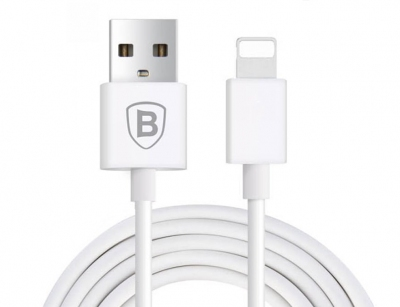 کابل شارژ و انتقال داده لایتنینگ بیسوس Baseus Plug Freely Lightning Cable 2m