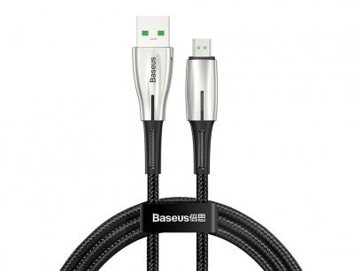 کابل شارژ سریع میکرو یو اس بی بیسوس Baseus Water Drop Quick Charge Micro USB Cable 1m