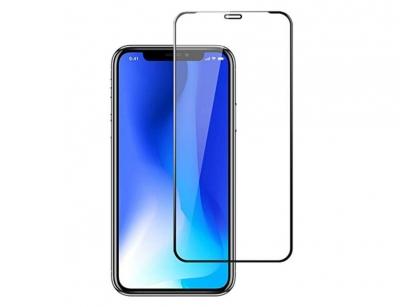 محافظ صفحه نمایش شیشه ای تمام چسب آیفون Full Glass 2.5D Screen Protector Apple iphone XR