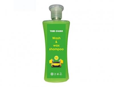 شامپو براق کننده خودرو تام کلین Tam clean Wash & Wax Shampoo