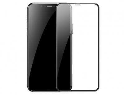 محافظ صفحه نمایش شیشه ای دوتایی بیسوس آیفون Baseus 0.3mm Glass Screen iPhone X/XS/11 Pro
