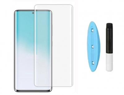 محافظ صفحه نمایش شیشه ای یو وی سامسونگ UV Nano Glass Samsung Galaxy S20 Plus