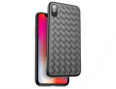 قاب ژله ای راک آیفون Rock Ultrathin Weave Case iPhone X/XS