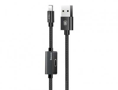 کابل صدا و شارژ لایتنینگ بیسوس Baseus Music Audio Cable 1m