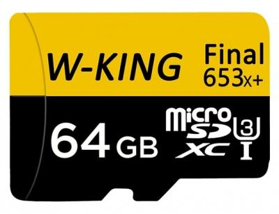 رم میکرو اسدی 64 گیگابایت W-KING 64GB Final 653xPlus 100MB/s Class 10