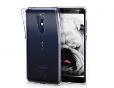 محافظ ژله ای 5 گرمی نوکیا Nokia 5.1 Jelly Cover 5gr