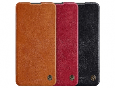 کیف چرمی نیلکین سامسونگ Nillkin Qin Leather Case Samsung Galaxy A21