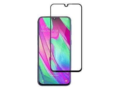محافظ صفحه نمایش شیشه ای تمام چسب سامسونگ RG Full Glass Samsung Galaxy A40