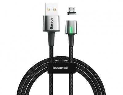 کابل آهنربایی میکرو یو اس بی بیسوس Baseus Micro USB Zinc Magnetic Cable 2m