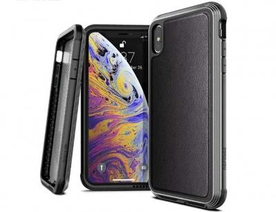 قاب ایکس دوریا طرح چرم آیفون X-Doria Defense Lux Case iPhone X/XS