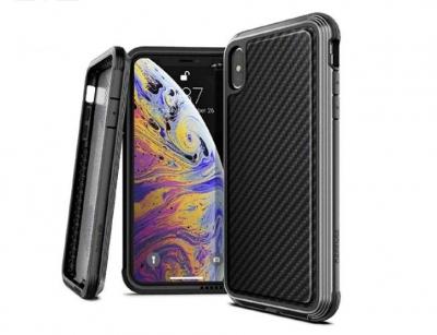 قاب ایکس دوریا طرح فیبرکربن آیفون X-Doria Defense Lux Case iPhone X/XS