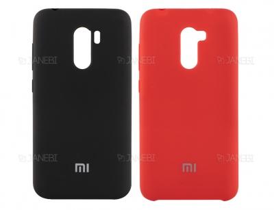 قاب محافظ سیلیکونی شیائومی Silicone Cover Xiaomi Pocophone F1