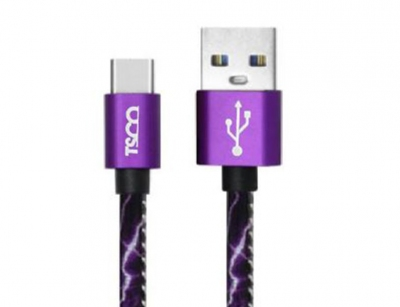 کابل تایپ سی تسکو TSCO TCC 158 USB-C Cable 1m