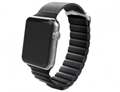 بند طرح چرم سیلیکونی اپل واچ ایکس دوریا X-Doria Hybrid Leather Wirstband Apple Watch 38mm