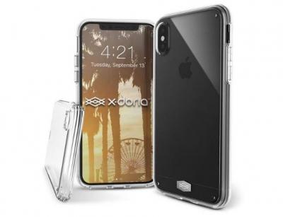 قاب محافظ ایکس دوریا آیفون X-Doria Clearvue Case iPhone X/XS