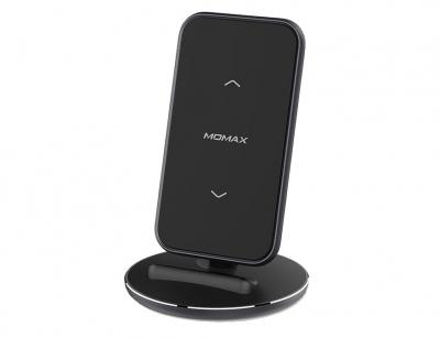 استند شارژر وایرلس سریع مومکس Momax QDock5 UD9 Fast Wireless Charger