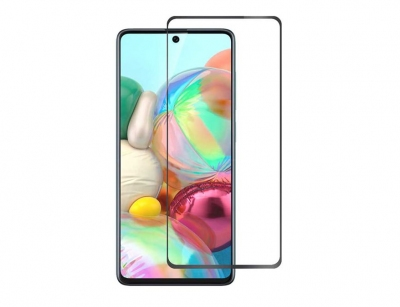 محافظ صفحه نمایش شیشه ای تمام چسب سامسونگ Full Glass TT Screen Protector Samsung Galaxy A71
