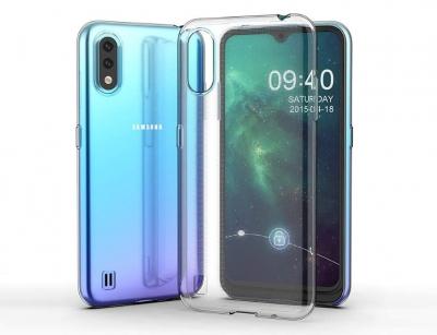 محافظ ژله ای 5 گرمی سامسونگ Samsung Galaxy A01 Jelly Cover 5gr